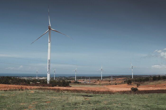 Větrné elektrárny jsou z pohledu životního prostředí velice šetrné.