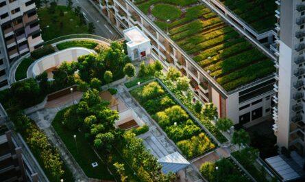 Zelená střecha přispívá k ekologickému způsobu bydlení.